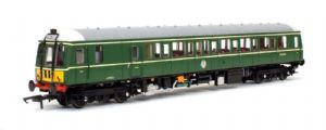 Dapol 4D-015-009 Class 122, BR Green with Small Yellow Ends, W55006